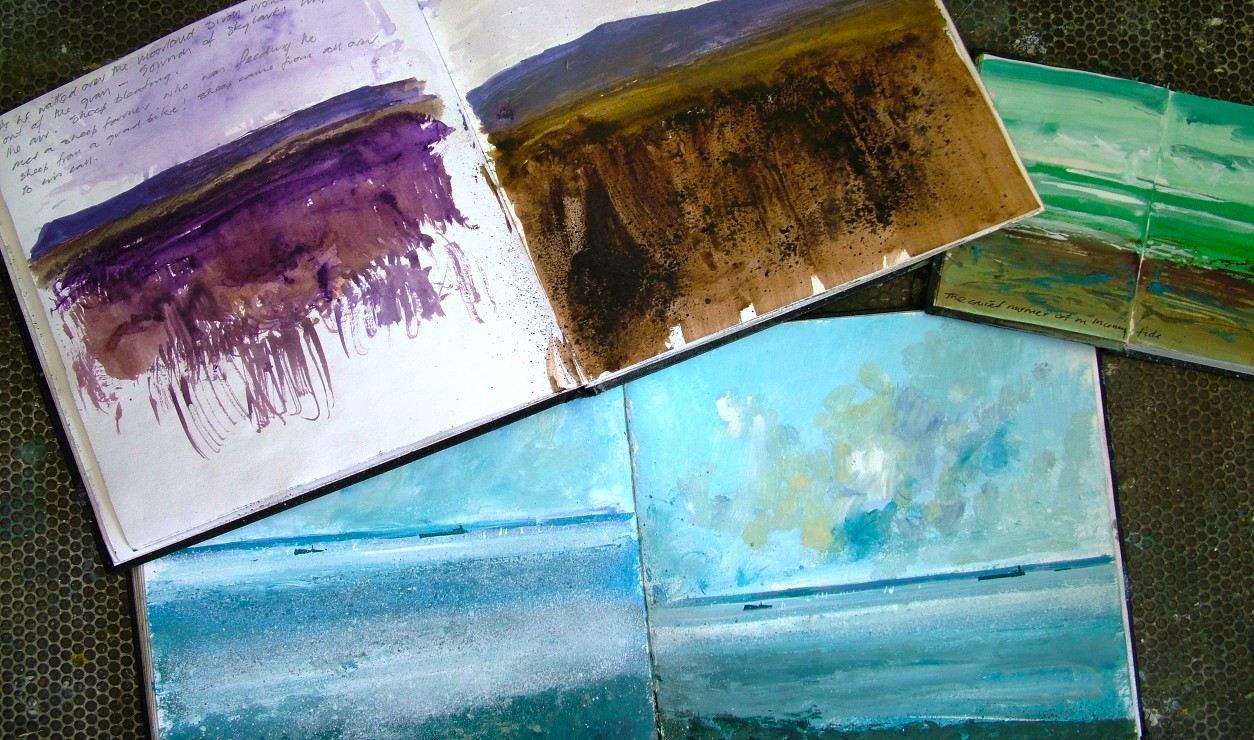 Jonathan Trim sketchbooks